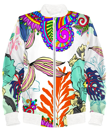 Colorific Bomber Jacket By Mark Loring