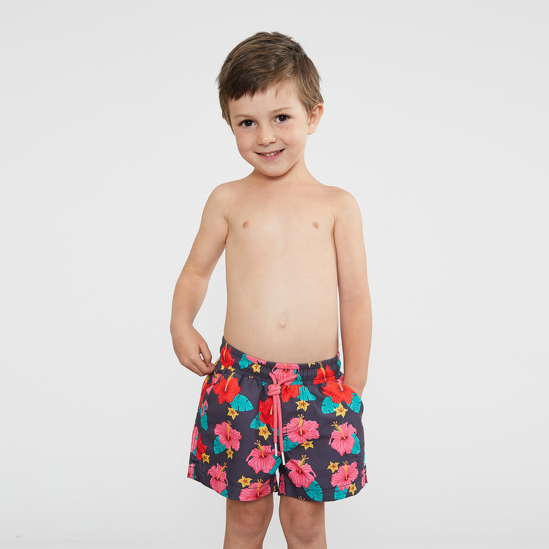 Mini Hibisky Kid's Shorts