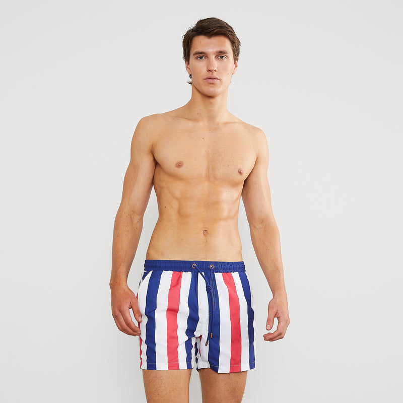 Club Stripe 2.0 Swim Shorts