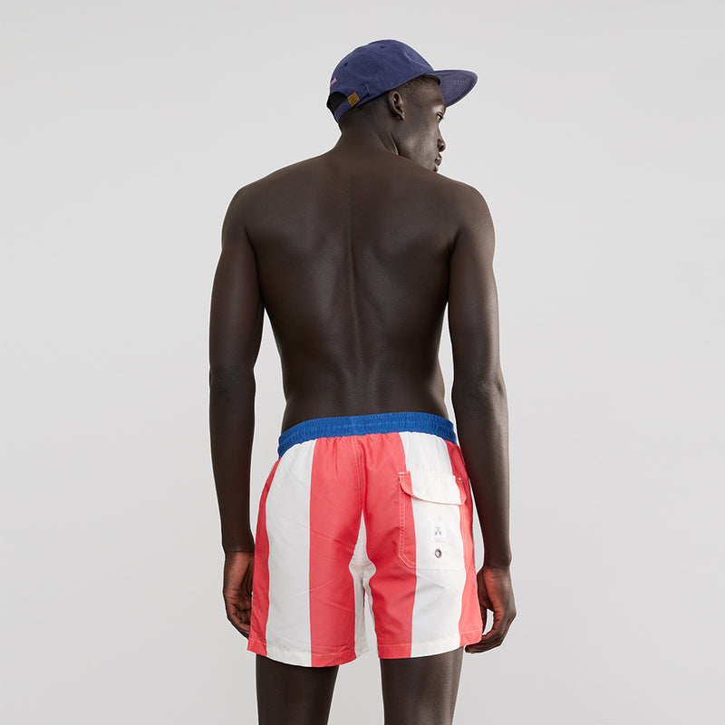 Sailor Stripe Swim Shorts
