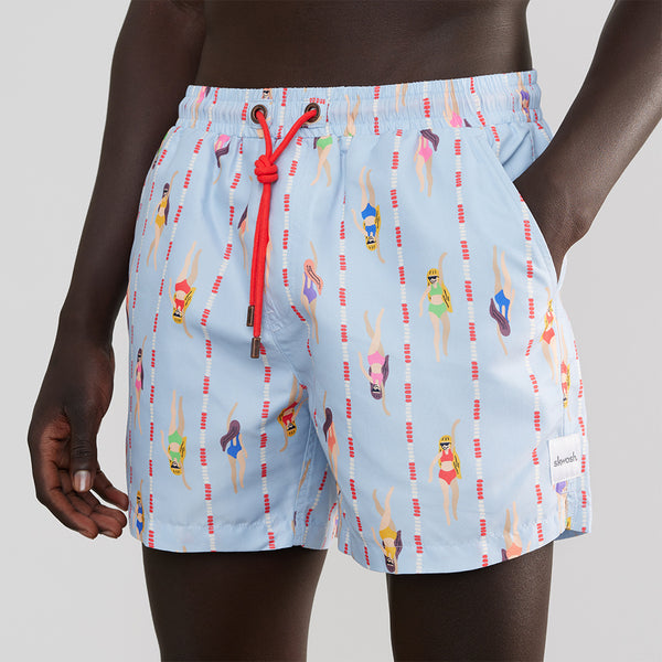 Swimming Laps Swim Shorts