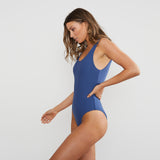 Navy Baby One-Piece Swimsuit