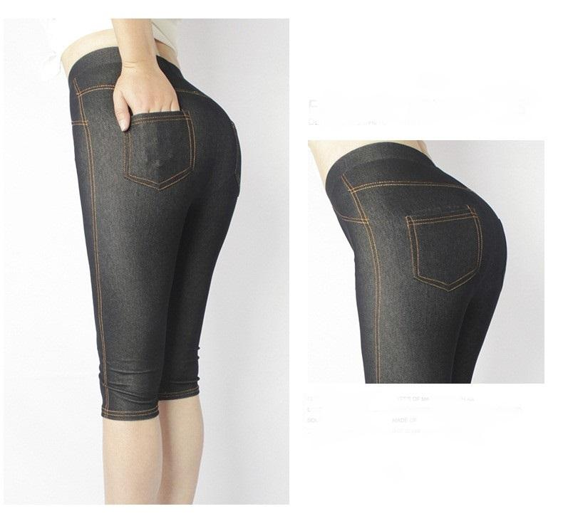 Pants - Summer Style  Women's Mid-Calf Leggings