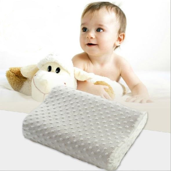 Baby Infant Slow Rebound Memory Foam Pillow
