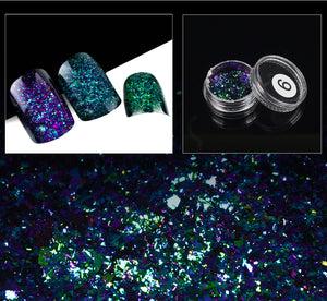 Chameleon Nail Holographic Sequins Powder For Nail Art
