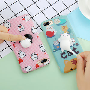 Squishy Cat Phone Cases For iPhone
