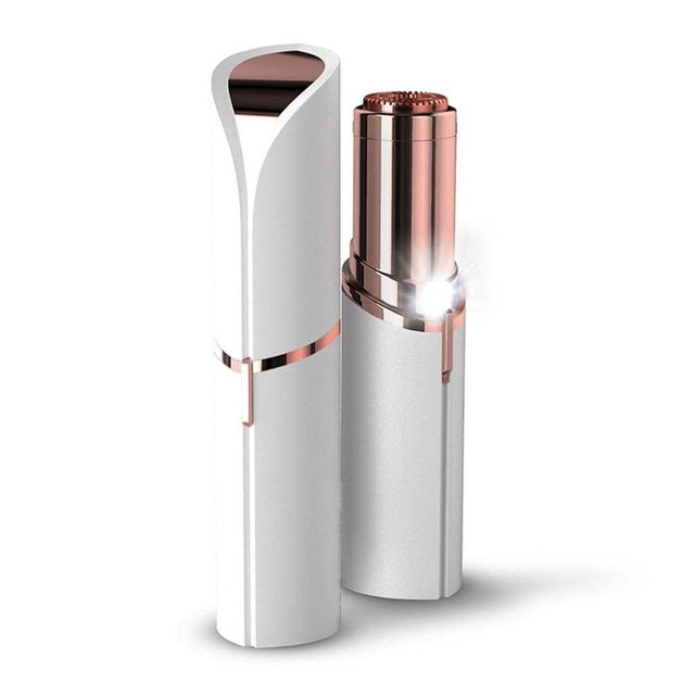 Electric Painless Lipstick-shaped Mini Hair Remover