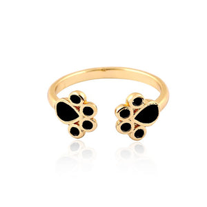 Cute Cat Paw Ring