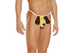 Elegant Moments Mens Dog Pouch G String One Size Yellow