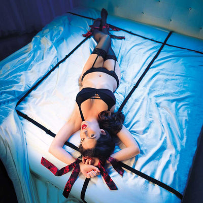 CalExotics Scandal 8 Points of Love Bed Restraint