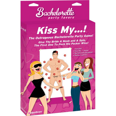 Bachelorette Party Favors Kiss My ... Game