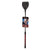 CalExotics Scandal Wide Tip Riding Crop 18 inch Red and Black