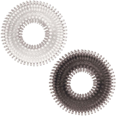 Nasstoys Mack Tuff Ribbed Cock Rings 2 Pack