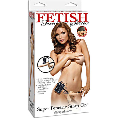 Pipedream Fetish Fantasy Series Super Penetrix Vibrating Strap On