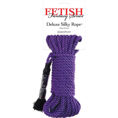 Pipedream Fetish Fantasy Deluxe Silky Soft Silk Bondage Rope