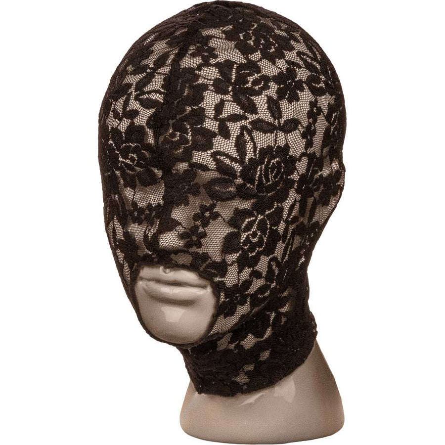 CalExotics Scandal Lace Hood One Size Black
