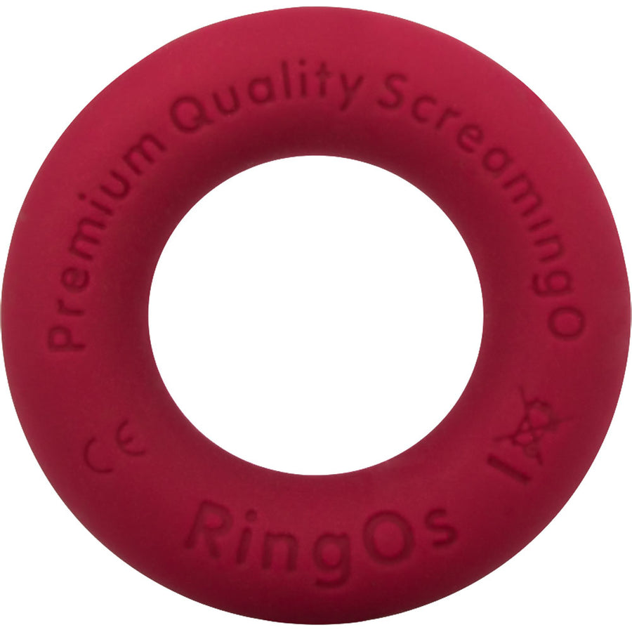 Screaming O RingO Ritz Mega Stretchy Liquid Silicone Cock Ring Red