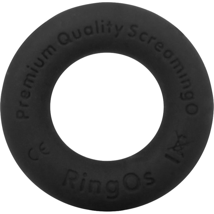 Screaming O RingO Ritz Mega Stretchy Liquid Silicone Cock Ring Black