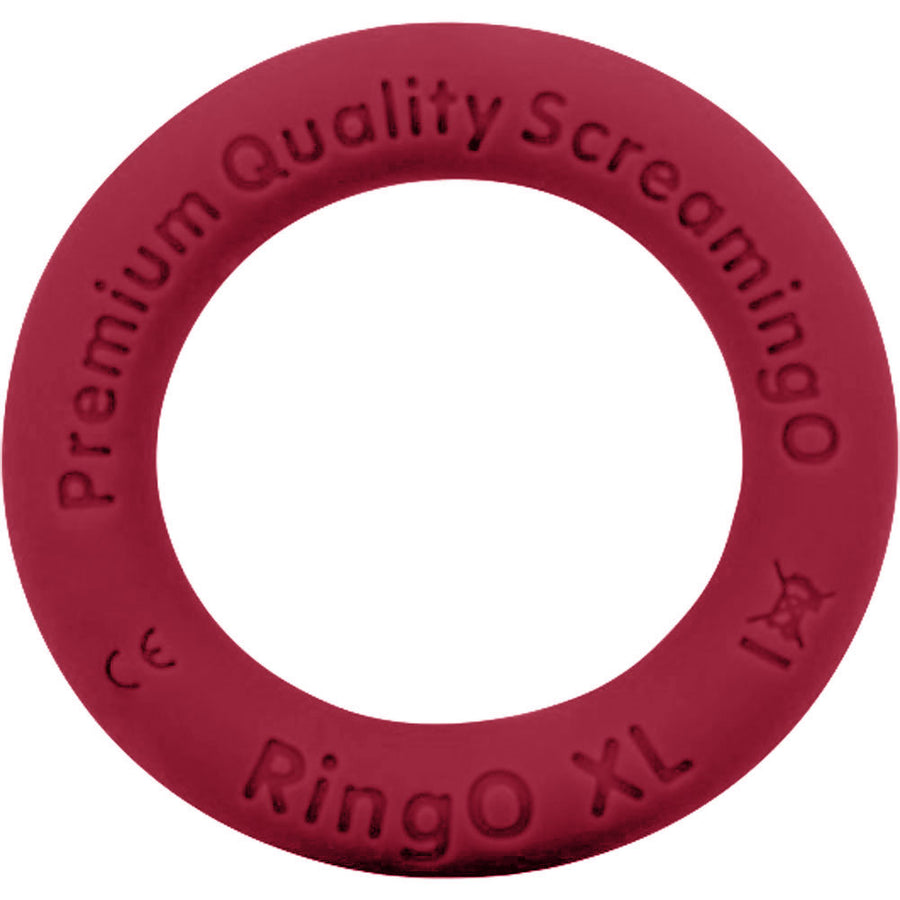 Screaming O RingO Ritz XL Mega Stretchy Silicone Cock Ring Red