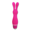 Seven Creations Sweetie Naughty Love USB Rechargeable Bunnii Rabbit Bullet Silicone Clitoral Vibrator