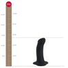 Fun Factory Amor Stub Beginners Silicone Dildo 5 inch Black Sex Toy