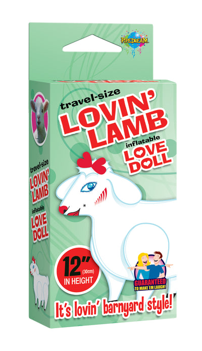 Pipedream Travel Size Lovin Lamb Inflatable Blow Up Love Doll 12 inch Tall