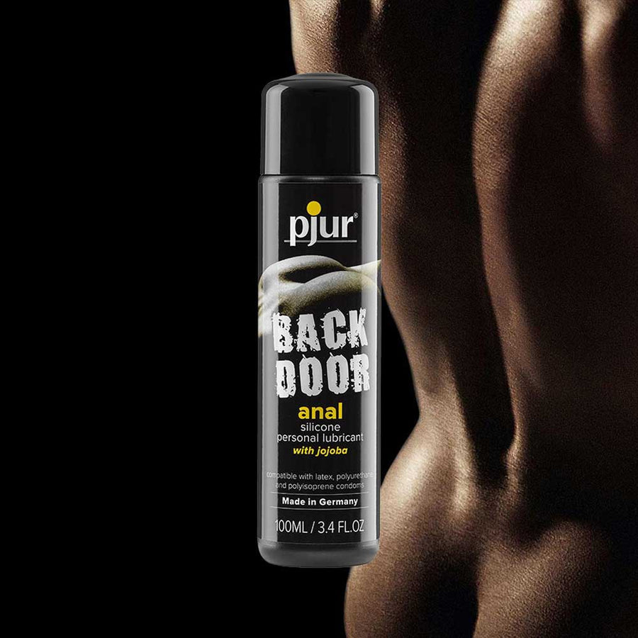 pjur Back Door Relaxing Anal Glide Jojoba and Silicone Personal Lubricant 100ml