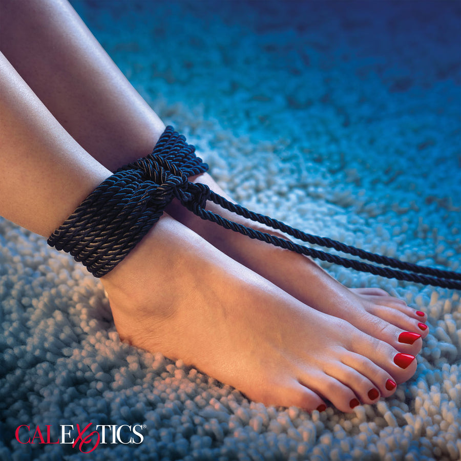 CalExotics Scandal BDSM Rope 98.5 Feet (30 meters) Black