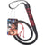 CalExotics Scandal Bull Whip 41 inch Red and Black
