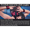 CalExotics Scandal Posture Collar with Cuffs