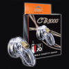CB 3000 Premium Male Chastity Cock Cage and Lock Set 3 inch Clear