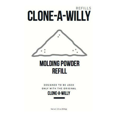Clone A Willy Molding Powder and Clone A Pussy Molding Powder Refill