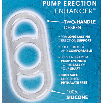 Dr Joel Kaplan Silicone Pump Erection Enhancer Cock Ring