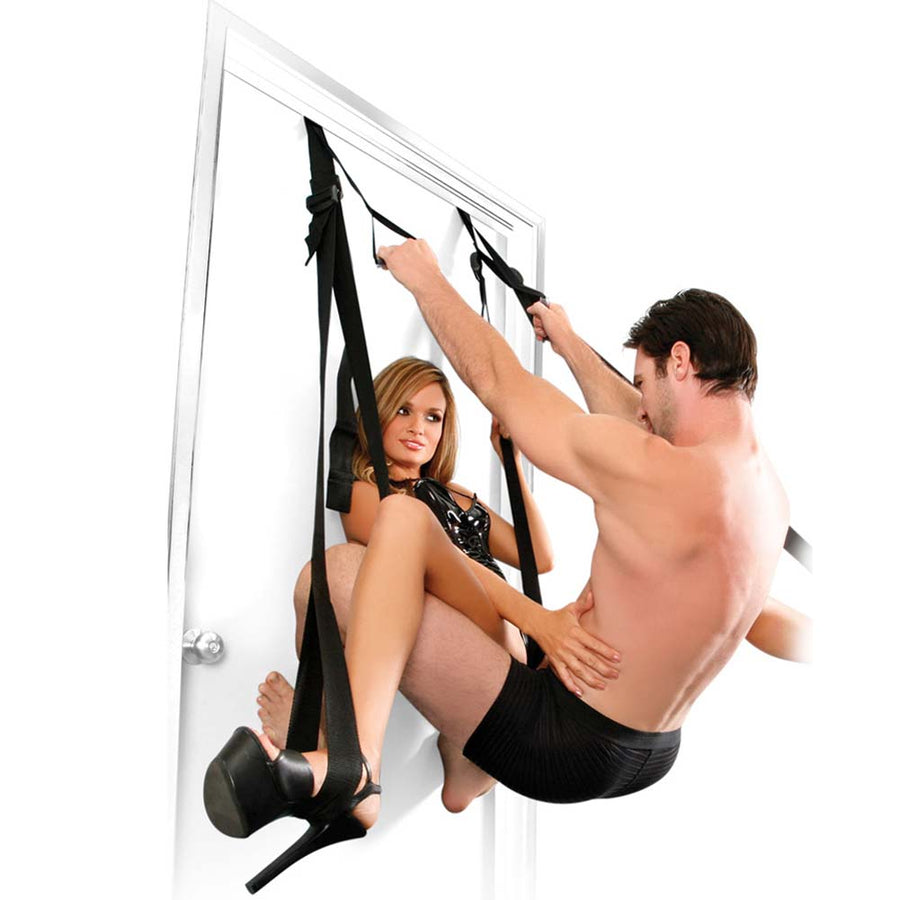 Pipedream Fetish Fantasy Series Deluxe Door Swing Black
