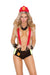 Elegant Moments Woman Firefighter Put Out My Fire 2 Piece Costume Set One Size