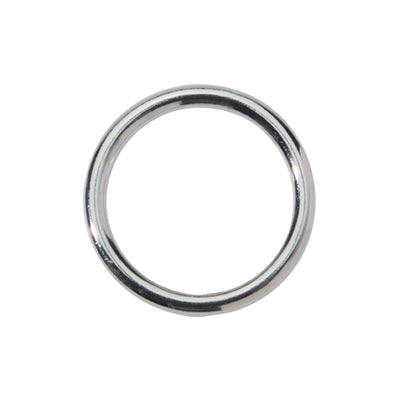 Spartacus Metal Cock Ring 1.25 inch Nickel Plated Silver
