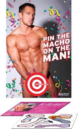 Party Favors Pin The Macho On The Man