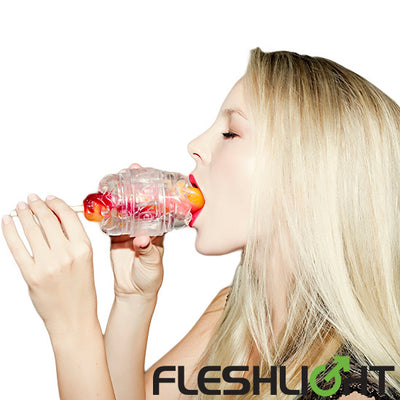 Fleshlight Quickshot Vantage Compact Masturbator for Men and Couples Clear Sex Toy