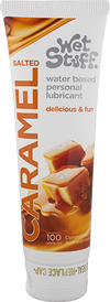 Wet Stuff Salted Caramel Flavored Water Based Personal Lubricant 100g