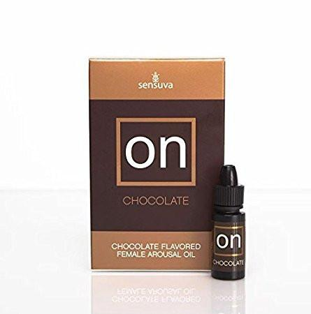 Sensuva ON CHOCOLATE Natural Arousal Orgasm Oil 5ml