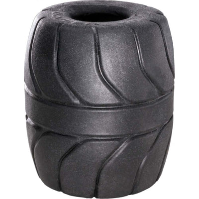 Perfect Fit Ball Stretcher for Men in Soft and Stretchy SilaSkin 2 inch Black
