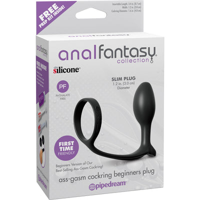 Pipedream Anal Fantasy Collection Ass Gasm Cockring for Beginners