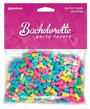 Bachelorette Party Favors Pecker Candy Sprinkles Assorted Colors