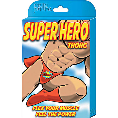 Male Power Novelty Super Hero Thong One Size