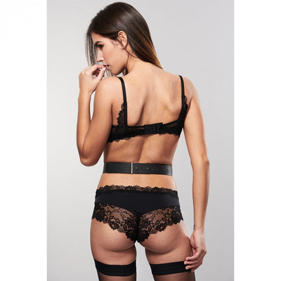 Bijoux Indiscrets Maze Suspender Belt Vegan Leather