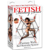 Pipedream Fetish Fantasy Series Fantasy Web Bed Restraint System Kit includes Wrist Handcuffs and Ankle Cuffs