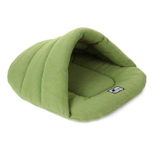 Dog Sleeping Bag Bed, Various Colors, Fleece