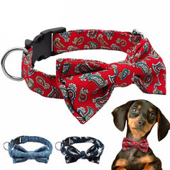 Dog Bow Tie Collar, Various Colors