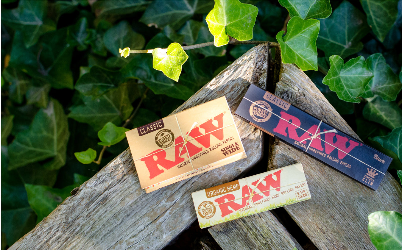 Where to Buy RAW Rolling Papers Canada