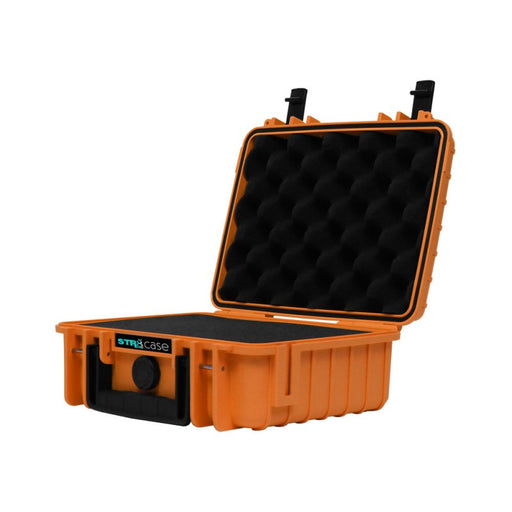Orange Pelican Case with 2 layers of pre-cut foam